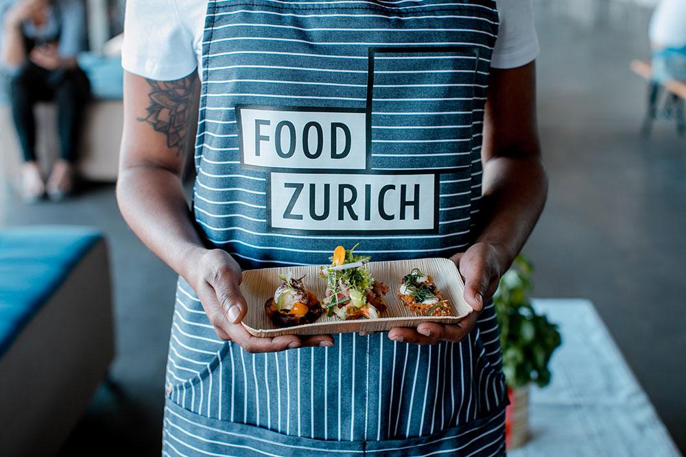 Food Save Markt im Rahmen von FOOD ZURICH