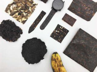 Bioplastik, Leder und Speck in vegan –aus Bananenschalen