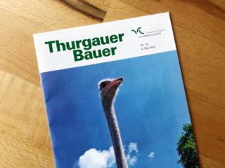 Regionale Sichtbarkeit: Unser Projekt im Thurgauer Bauer