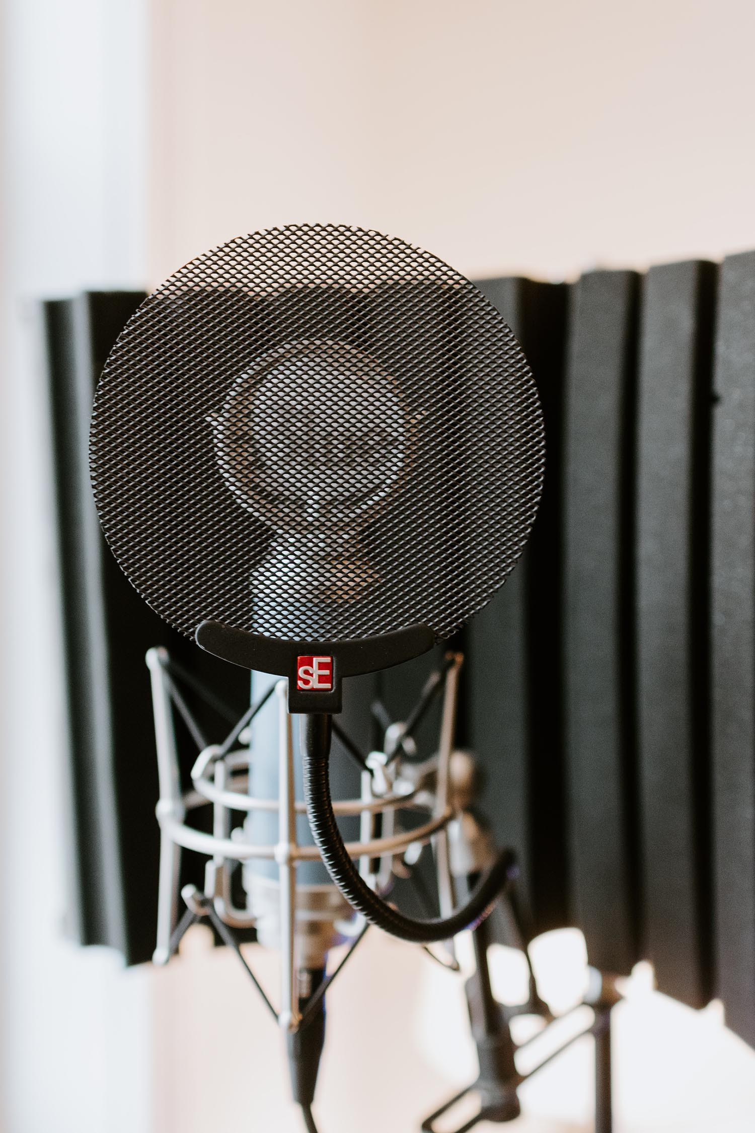 Abbildung eines Radiomikrofons